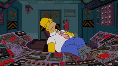 Homer Simpson diagnosed with narcolepsy